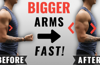 How To Gain Arm Muscles Fast & Easy
